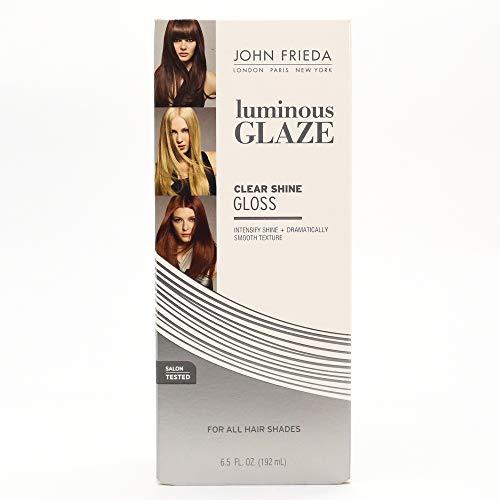 John Frieda Lustrant de coiffage Color Glaze - Formule transparente enrichie d'amplificateurs de brillance et de luminosité - 190 ml