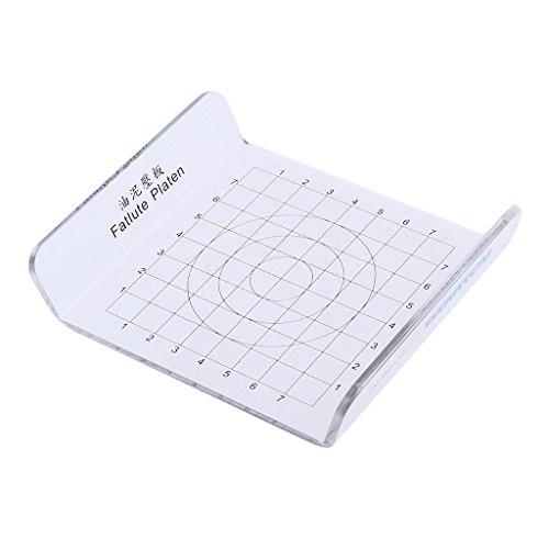 MagiDeal U-Typ Transparent DIY Ton Schlamm Platte Pressplatte Druckplatte Druckplatte