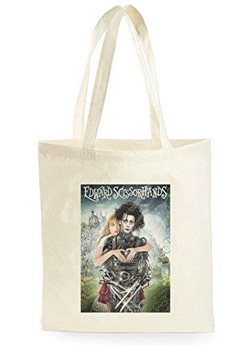 Scissorhands Johnny Depp Poster, Einkaufstasche fürs Einkaufen, Picknick, Zuhause, Lagerung und Schule, tote bag ()