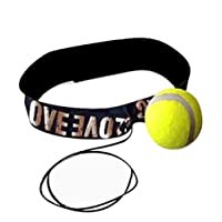 Fligatto Boxing Boxing Training Ball With Headband Reflection Speed Training Boxing Punch Exercise Ball