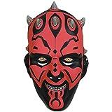 Star Wars Darth Maul 3/4 Adult PVC Mask Costume Accessory