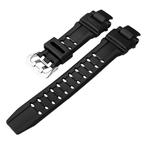 Ersatz Band G-shock-uhr (Haodasi Ersatz Resin Uhrenarmband Uhrarmband Gurt Armband Band Watchband für Casio G-Shock GA-1000-1B/2B/9G)