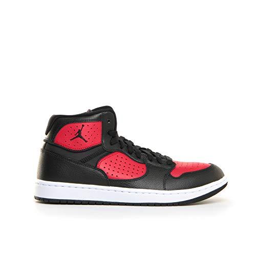 Nike Herren Jordan Access Basketballschuhe, Mehrfarbig (Black/Gym Red-White 006), 44 EU