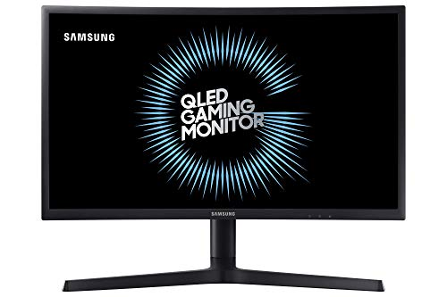 Samsung LC24FG73FQWXXL 23.5-inch Curved Gaming Monitor (Dark Blue and Black)