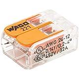 WAGO - Blister de 15 bornes de connexion automatique S221 2 entrées WAGO