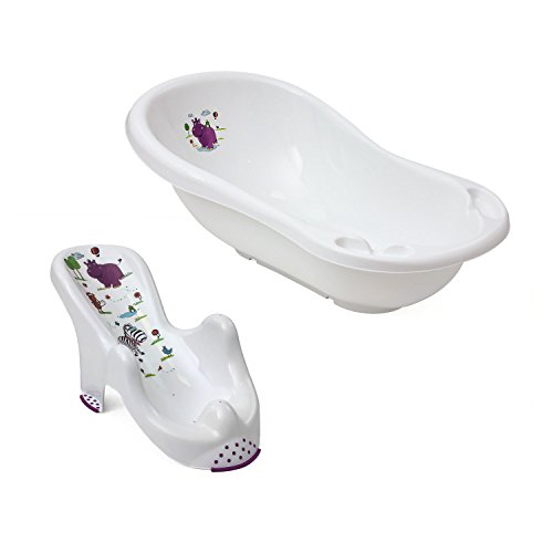 set-2in1-okt-plastic-baby-bath-tub-100-cm-and-seat-hippo-white