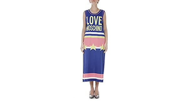 Multicolor 07954117 Women's Moschino Dress Love Ws77s00 1i X Spring tsQdhrC