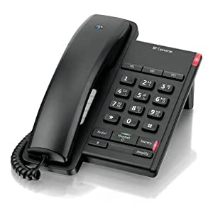 BT Converse 2100 Corded Telephone - Black