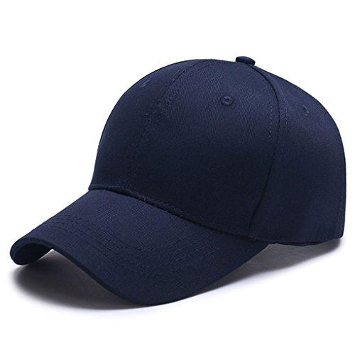 Oubang Mann Frauen Sommer Segeltuch Baseballmütze einfacher Hut beiläufiger Hip Hop Kappen Sun Hut