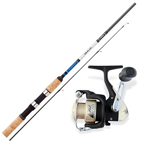 SHIMANO Forellen Angelset Combo Angelrute & Angelrolle Set - Angeln NO.1