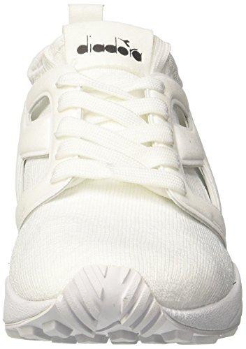 Diadora Evo Aeon Weave, Chaussures de Gymnastique Homme Blanc Cassé (Bianco Bianco)