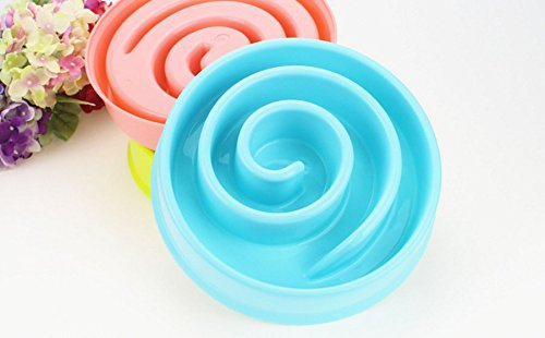 Snail Shape Eco-friendly Durable Non-Toxic Pet Interactive Fun Feeder Pet Bloat Stop Slow Eating Pet Bowl with Non Slip… 4