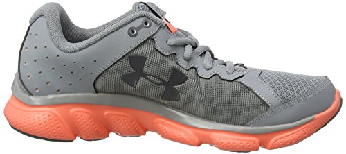 Under Armour Ua W Micro G Assert 6, Chaussures de Running Compétition Femme Gris (Steel 038)