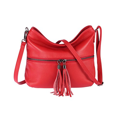 OBC Only-Beautiful-Couture, Borsa a spalla donna blu Hellblau ca.: 32x23x9 cm (BxHxT) Rot