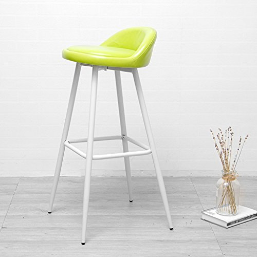 GJM Shop tabouret pivotant à 360 ° réglable en hau Fer Peinture De Cuisson Chaise De Bar Similicuir + Coussin Éponge Tabouret De Bar Ménage Bar Peut Mettre Les Pieds Tabouret Haut Chaises D'accueil 43 * 43 * 87 Cm --- Sponge + Leatherette / surface de chaise en bo ( Couleur : 11 )