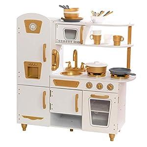 KidKraft- Modern White Play Kitchen, Color (53445)