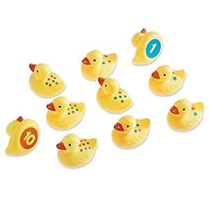 Learning Resources- Patos Smart Splash divertirte aprendiendo los números y contando, Color (LER7301)