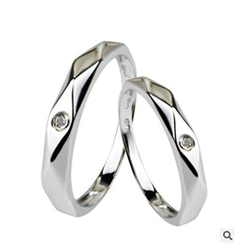 free-engraving-knsam-women-sterling-silver-wedding-band-white-rhinestone-inlay-size-n-1-2novelty-rin