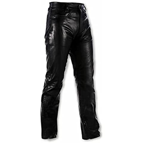 Pantalones Piel Señoras Moto Custom Bobber Jeans 5 bolsillos Hombre 42