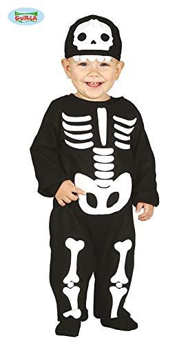 Disfraz o Mono de Esqueleto para bebé