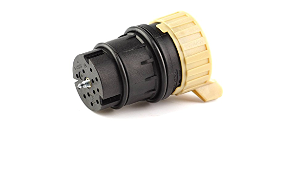 Bapmic 2035400253 13 Poliger Stecker Steuereinheit Automatikgetriebe Mit Dichtung Für C E G M S Klasse Clc Auto