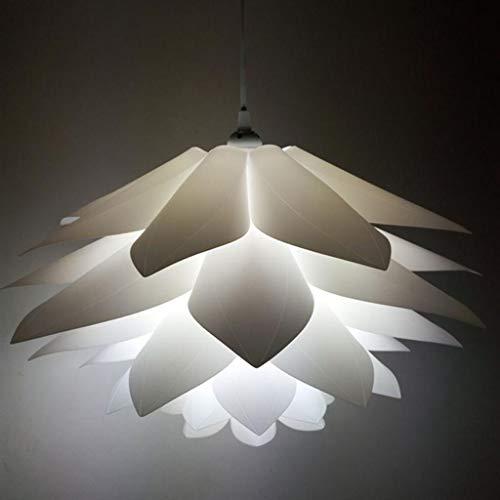 GLL Lotus Lustre Pas Cher Lampe De Puzzle Moderne Lustre Restaurant Abat-Jour Décoratif (Couleur : D)