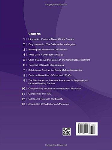 Evidence Based Clinical Orthodontics