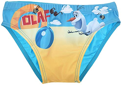 Disney Frozen - Die Eiskönigin Badehose Olaf blau (110)
