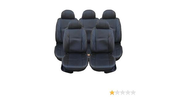 5x Sitze Kunstleder Sitzbezüge Schonbezüge Schonbezug Schwarz Neu Hochwertig Auto