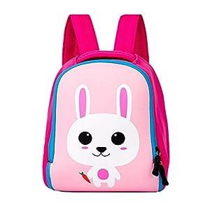 41EfSBj4FHL. SS300  - Mochila Infatil para Niños de 3-7 Años de Edad de Dibujos Animal Lindo Mochila Preescolar un Regalo para Niños Conejo