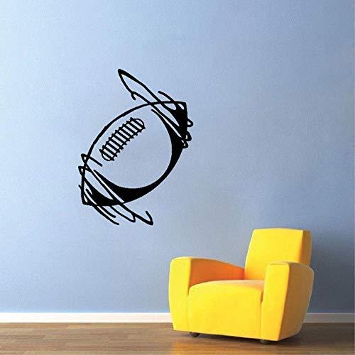 ll Rugby Ball Sport Wohnzimmer Das Schlafzimmer PVC 40.5CM*55CM ()