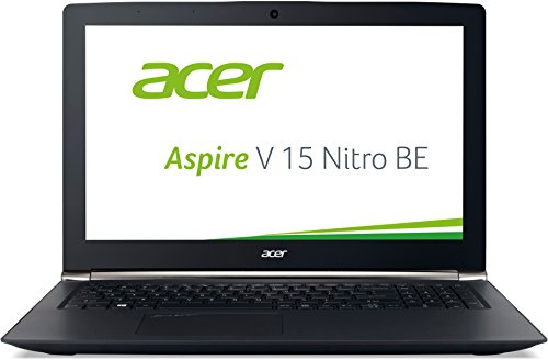 Acer Aspire V 15 Nitro Black Edition 39,6 cm (15,6 Zoll Ultra HD IPS) Notebook (Intel Core i7-6700HQ, 16GB RAM, 256GB SSD + 2TB HDD, NVIDIA GeForce GTX 960M (4 GB VRAM), Win 10 Home) schwarz