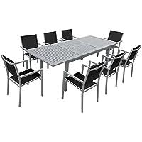 Amazon.fr : table grise extensible - Voir aussi les articles sans ...