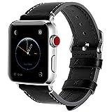 Fullmosa 8 Farben Für Apple Watch Armband 42mm, Wax Series iWatch Leder Band/Armbänder für Apple...