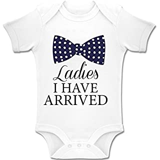 Acen Merchandise Ladies, I Have Arrived! - Baby Bodys/Strampler Romper Onesie Unisex 100% Baumwolle (0-24 Monate) (3-6 Monate)
