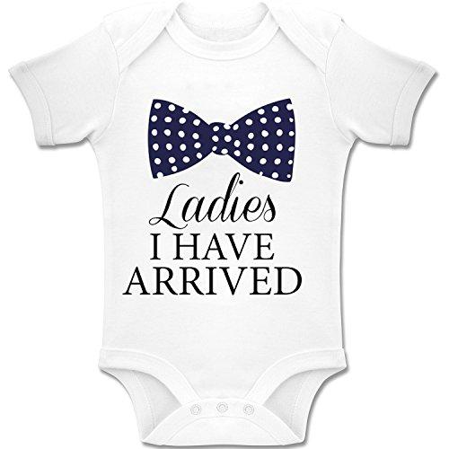 Acen Merchandise Ladies, I Have Arrived! - Baby Bodys/Strampler Romper Onesie Unisex 100% Baumwolle (0-24 Monate) (0-3 Monate)