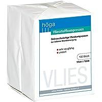 Höga Pharm Vliesstoffkompressen, sehr saugfähig, unsteril, gebrauchsfertige Vlieskompresse zur äußere Wundversorung... preisvergleich bei billige-tabletten.eu