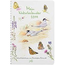 Mein Naturkalender 2019: Naturillustrationen von Christopher Schmidt