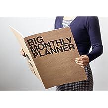 New Blank 13 Month Planner Calendar Book ~Big