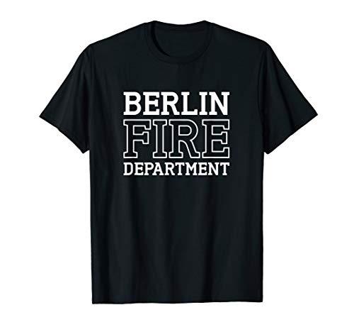 Herren und Männer Berliner Feuerwehr   Freiwillige Feuerwehr T-Shirt