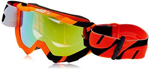 100% accuri-wildblast Maske-MTB unisex erwachsene, orange/schwarz