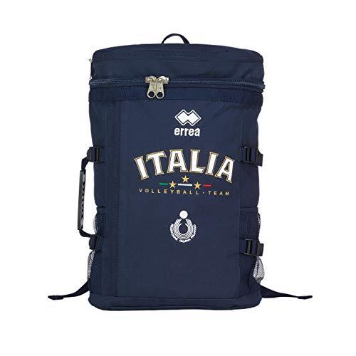 Errea Borsa/Zaino Ufficiale della Nazionale Italiana Pallavolo, colore blu