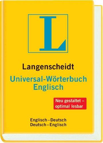Langenscheidt Universal-Wörterbuch Englisch: Englisch-Deutsch/Deutsch-Englisch