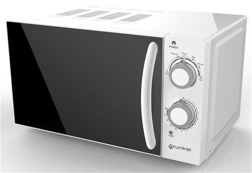 Grunkel - Microondas blanco de 20 litros de capacidad y 700W. 6...