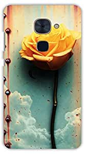 Crazy Beta FLOWERS DESIGN Printed Back Cover For Lee Eco Le 2 Pro