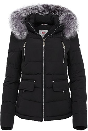 6M98 Damen Winterjacke in Daunen-Optik