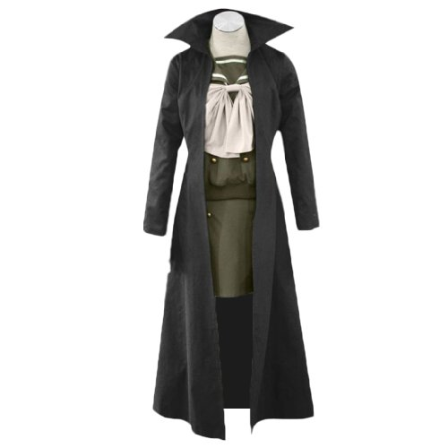 Dream2Reality japanische Anime Shakugan no Shana Cosplay Kostuem - Shana Outfit 3rd Ver Kid Size Large (Shana Cosplay Kostüm)
