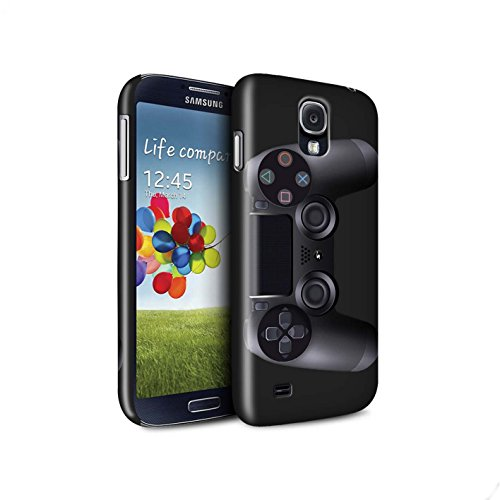 STUFF4 Matte Snap-On Hülle / Case für Samsung Galaxy S4/SIV / Playstation PS4 Muster / Spielkonsolen - 4 S4 Galaxy Max Fall