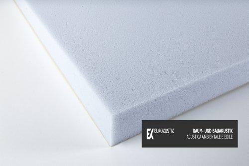 Akustikschaumstoff Basotect - ME PLAN 50 mm - Basotect Platte Hellgrau 1200x600x50 mm 0,72 mq