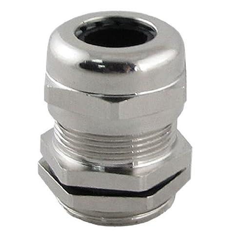 En acier inoxydable 6–12mm M20Câble glande connecteur avec locknut